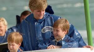 princes william and harry attend service at diana u0027s grave bbc news