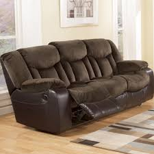 north shore sofa ashley north shore 4 piece leather sofa set in dark brown