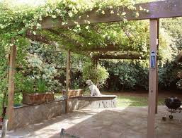 Building A Freestanding Pergola by How To Build A Freestanding Pergola Step By Step