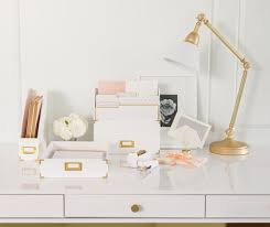 white and gold office desk sugar paper for target office supplies design darling
