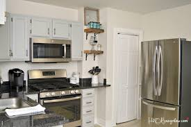 Reclaimed Wood Cabinets For Kitchen Diy Reclaimed Wood Kitchen Shelves H20bungalow