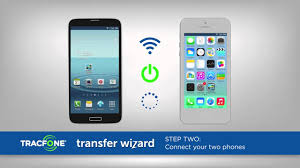 use transfer wizard to move stuff to your new phone in no time