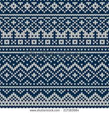 fair isle nordic traditional fair isle style seamless stock vector 217183984