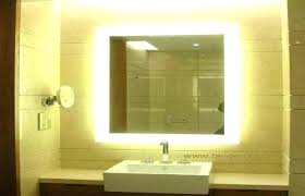 Lighted Vanity Mirrors For Bathroom Backlit Bathroom Vanity Mirror Bathroom Vanity Mirror Best Lighted