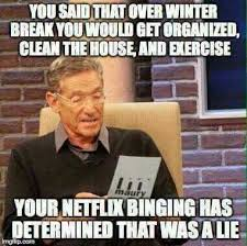 Winter Break Meme - homeschool humor winter break is over still learning