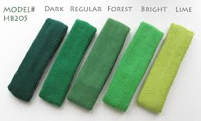 green headband green headband regular green band forest green