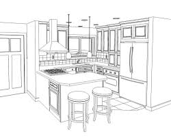 Kitchen Cabinet Drawing 100 Kitchen Cabinets Drawings Design Own Kitchen Cabinets