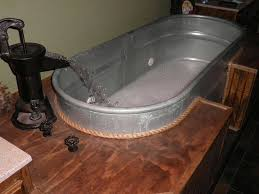Galvanized Trough Bathtub My Horse Trough Jacuzzi Feels Good After A Hard Workout For