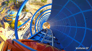 speed of roller coaster california screamin front row roller coaster disney california