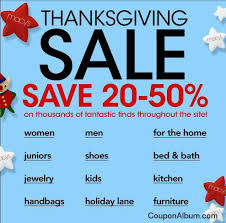 macys thanksgiving sale shopping