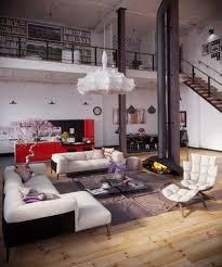 Industrial Look Living Room by Modern Loft Living Spaces Blending Organic Design And Industrial