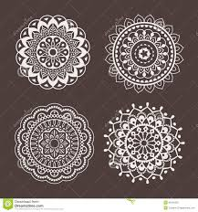 lace ornaments stencil stock vector image of home embelishment
