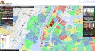 Zip Code Heat Map by Not Sure Whether To Rent Or Buy Check The Heat Map Techcrunch