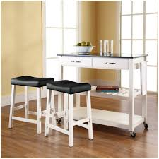 Narrow Kitchen Cart by Kitchen White Kitchen Cart With Stainless Steel Top Sunnersta