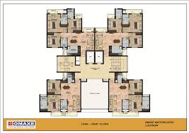 omaxe waterscapes 3 bhk flats in lucknow