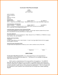Summer Job Resume Sample Resume Format For Employment Free Resume Example And Writing