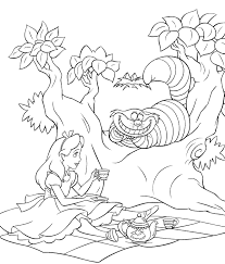 akatsuki coloring pages alice in wonderland coloring book