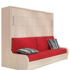 armoire lit avec canapé armoire lit escamotable avec canapé intégré au meilleur prix