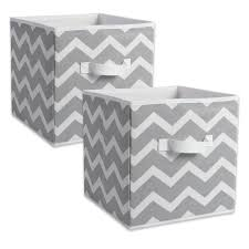 amazon com dii fabric storage bins for nursery offices u0026 home