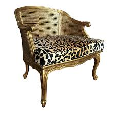 French Style Furniture by French Style Arm Accent Chair With Gold Painted Frame Curved