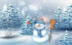 merry snowman wallpaper cheminee website