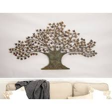 Wall Decor Metal Tree Outdoor Wall Décor You U0027ll Love Wayfair Ca
