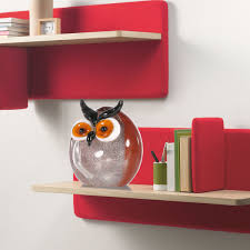 Animal Figurines Home Decor by Best And Cheap Multicolored Tooarts Chubby Owl Glass Ornament