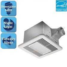Bathroom Fan Led Light Delta Breez Signature G2 Series 110 Cfm Ceiling Bathroom Exhaust