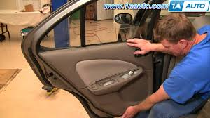 2014 nissan sentra interior backseat how to install replace remove rear door panel nissan sentra 00 06