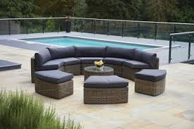 Curved Patio Sofa by Transform Your Yard Into A Garden Oasis