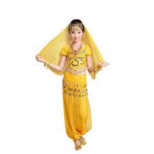 halloween dance costumes amazon com pilot trade kid 3 piece indian dance dress set