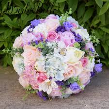silk bridal bouquets modabelle 2018 silk wedding flowers garden bouquet home decor