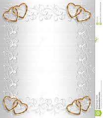 White And Gold Wedding Invitation Cards Wedding Invitation Card Border Designs Free Download Yaseen For