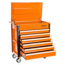 Orange Filing Cabinet Oem Tools 24630 Professional 37 6 Drawer Orange Tool Service Cart