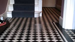black and white tile floor gallery 70 black and