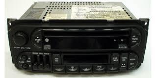 2002 dodge dakota radio 2001 2002 dodge dakota factory am fm radio stereo cassette cd