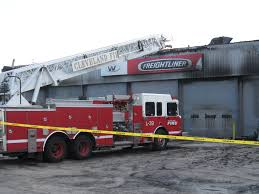 august 6 fire damages valley freightliner shop in brook park