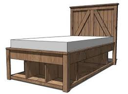 Build Platform Bed Storage Under by Best 25 Full Storage Bed Ideas On Pinterest Floor Beds Raised