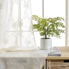 online get cheap patterned voile curtains aliexpress com