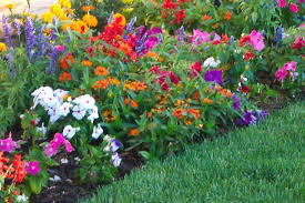 relaxing front yard flower bed landscaping ideas pics ideas front