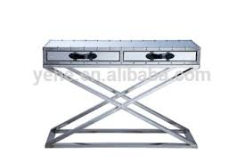 Steel Console Table Stainless Steel Console Table Tv Stand New Design For 2015