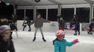 magic season ice arena at bellevue downtown park youtube