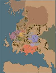 World Map No Labels by A Chance At Redemption Steelshod 96 Dndgreentext