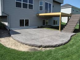 Sted Concrete Patio Design Ideas Sted Concrete Patio Contractors Free Home Decor