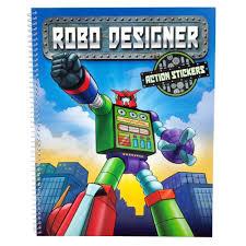 robo designer colouring book by depesche ebay