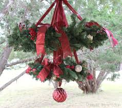 making a chandelier christmas wreath chandelier domestic imperfection