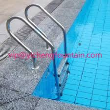 Swimming Pool Handrails Ss 304 Swimming Pool Accessories Ladders With Anti Slip Steps