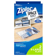 ziploc space bags x large plastic bag 2 pack 645482 the home depot