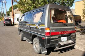 1991 mitsubishi delica old parked cars 1992 mitsubishi delica turbo diesel star wagon
