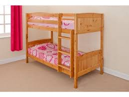 Solid Pine Bunk Beds Chris Solid Pine Bunk Bed In Two Colours